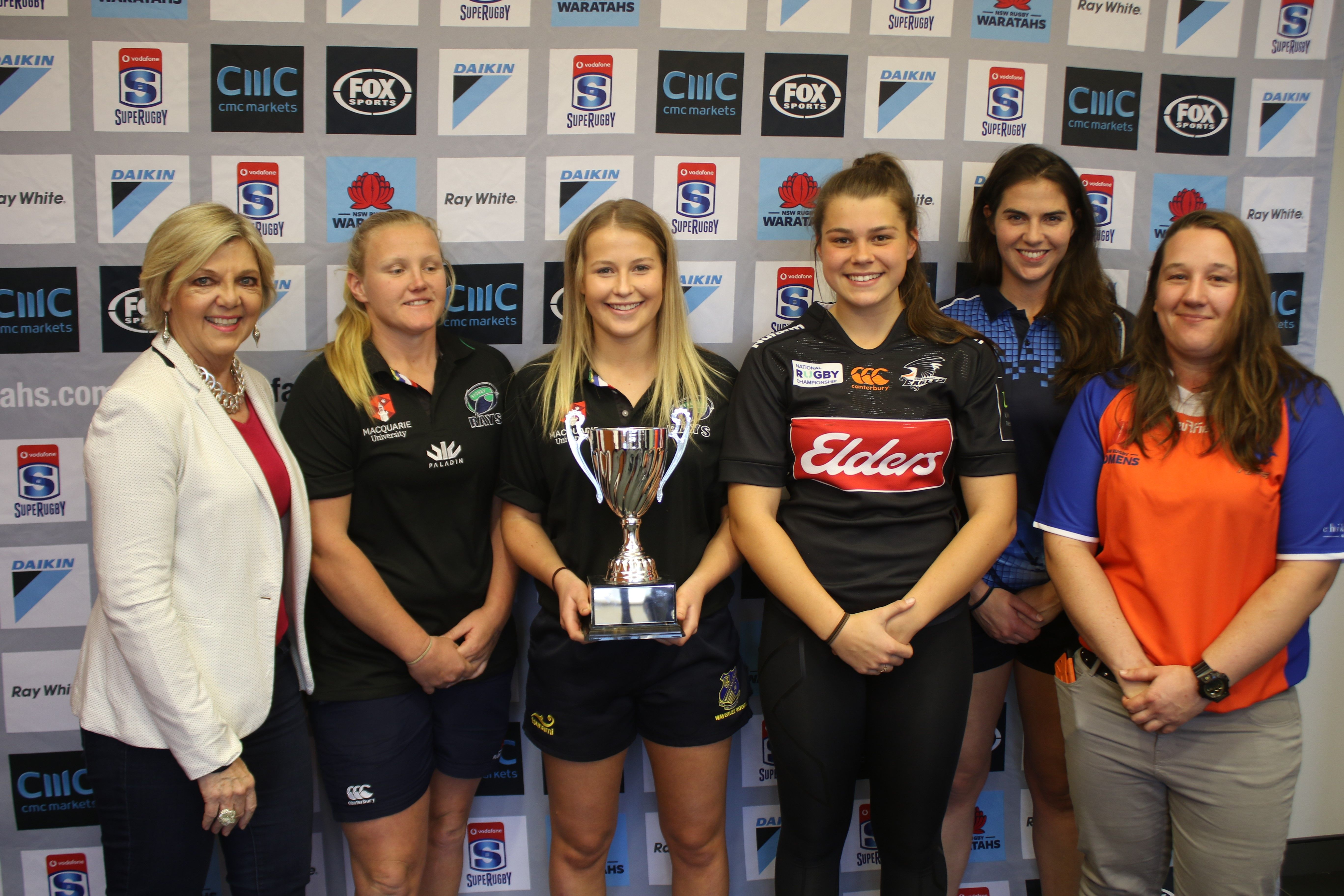 NSW WOMEN�S NRC TEAMS COMPETING FOR THE CHIKAROVSKI CUP